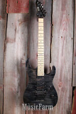 ESP LTD M103 FM Electric Guitar SSH Floyd Rose Flame Maple Top See Thru Black