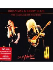 BRIAN MAY&KERRY ELLIS-THE CANDLELIGHT CONCERTS:LIVE AT MONTREUX 2013 2DVD+CD NEW