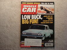Muscle Car Review 2010 July Shelby GT 350R, Hemi Under Glass, Dart 340, Fairlane