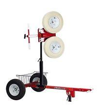First Pitch Curveball Baseball / Softball Pitching Machine W/Transporter Cart