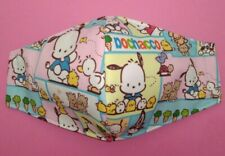 Pochacco Face Mask Hello Kitty Friend Adult Size 2-Layers Filter Pocket Optional