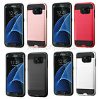 For Samsung GALAXY S7 EDGE Hybrid Rugged Armor Hard Protective Case Cover Slim