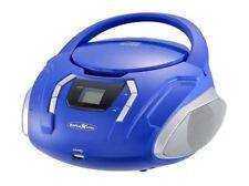 Reflexion CDR2250U UKW-Radio mit CD/MP3/USB/AUX-IN - Blau (CDR2250U BL)