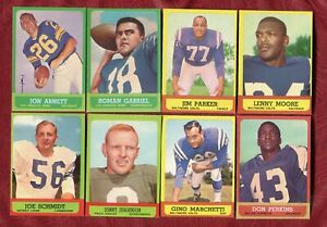 1963 TOPPS 43 CARD GROUP LOT PARTIAL SET BREAK WITH STARS NMT / NMMT