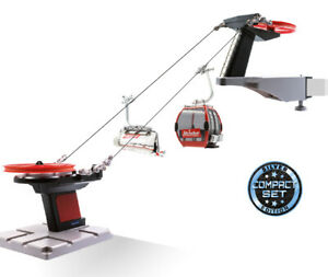 "Jc 83296 Kompaktseilbahn "" Skiwelt "" +Gondola+ Chair 1:3 2 New+Boxed"