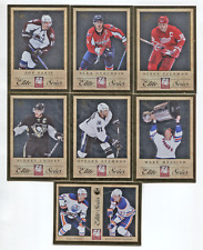 Lot(27) 2011-12 Panini Elite Series Inserts Crosby,Ovechkin,Messier,Yzerman++