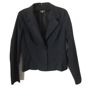 NAF NAF- Classic Vintage Black Jacket -NEW-Size 10/38-BNWT- 2 Front Pockets