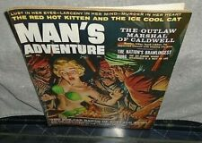 Vintage Man's Adventure Magazine Good Condition GGA Hot Babes November 1959