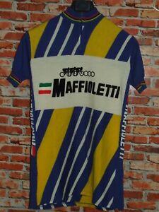 Shirt Bike Shirt Maillot Cycling Heroic Vintage 70'S Maffioletti 80% Wool