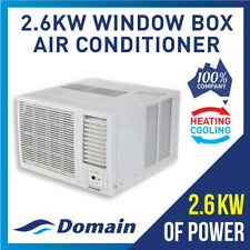 NEW DOMAIN 2.6KW WINDOW WALL BOX REVERSE CYLE REFRIGERATED AIR CONDITIONER