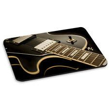 Guitarra Eléctrica Acostado ALFOMBRA RATÓN ORDENADOR PC - Música Rock'n'Roll