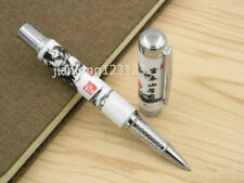 Jinhao Blue And White Porcelain Chinese Painting Ceramic Rollerball Pen