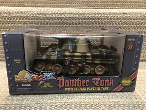 Ultimate Soldier 1:32 German Panther Tank w/Crew, No. 20290