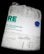 TWIN XL DORM - RE Room Essentials Pillow Talk SHEET SET