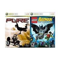 Game Bundle - 'LEGO Batman: The Videogame' and 'Pure' (Microsoft Xbox 360)