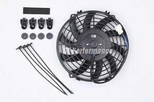 Ventilateur Extra Plat 250mm Universel 160W Ventilo Type Spal pour Radiateur