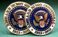 Richard M. Nixon  Centennial Cufflinks /Presidential Cufflinks/ White House