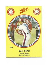VERY RARE 1982 MONTREAL EXPOS GARY CARTER # 19A  PRO TIPS CARD