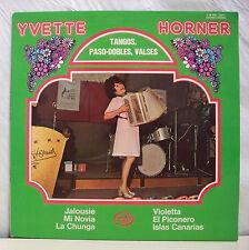 "33T Yvette HORNER Disque Vinyle LP 12"" TANGOS PASO-DOBLES VALSES - MFP 12.371 EX"