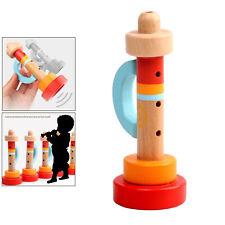 Baby Holz Trompete Buglet Horn Wind Instrument Kinder   Pädagogisches