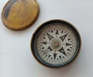 Negretti & Zambra London vintage | Vintage pocket compass |Rare and unusual