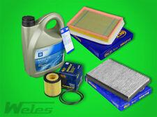 Paquete de Inspección Filtro + ORIGINAL ACEITE MOTOR 5w30 OPEL ASTRA H 1,9 CDTI