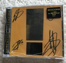 SHINEDOWN Attention Attention CD With Autographed Insert Cracked Case
