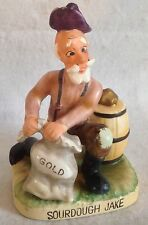 VINTAGE RARE KELVIN SOURDOUGH JAKE GOLD MINER FIGURINE C-371