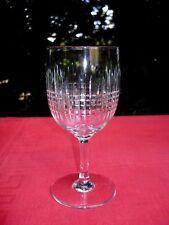 BACCARAT NANCY WATER GLASS VERRE A EAU CRISTAL TAILLÉ WASSERGLÄSER WASSERGLAS