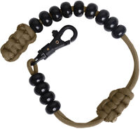 Coyote Tactical Paracord Pace Counter Beads Bracelet for Navigation Army Ranger