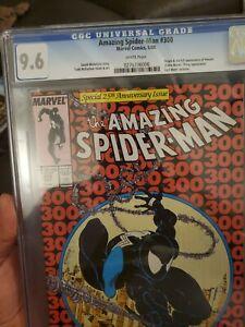 Amazing Spiderman 300 CGC 9.6 White pages.Origin of Venom