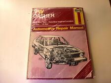 Haynes Automotive Repair  Manual VW Dasher 1974-81 gas engine