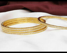 Indian Diamond American Bracelet Bangles Jewelry Gold Plated Zircons Made Bangle