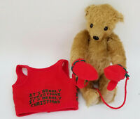 ADORABLE LIMITED EDITION EDGAR MOHAIR TEDDY BEAR by DEAN'S RAG BOOK Co UK ~ 13""