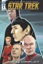 STAR TREK : THE Q CONFLICT - COMPLETE SET COVER A ISSUES 1 2 3 4 5 6 - IDW