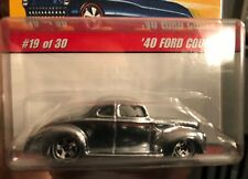 HOT WHEELS CLASSICS SERIES 2 CHROME '40 FORD COUPE with case