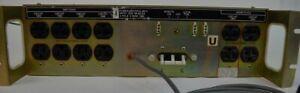 DEC Power Control 861C 2 Pole 3 Wire 24A Power Strip w/ Remote