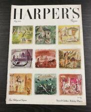 Harper's Bazaar Magazine: May 1949
