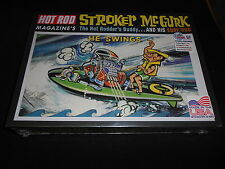 """MPC 873/12 HOT ROD MAGAZINE'S """"STROKER McGURK"""" WITH HIS SURF ROD MODEL KIT"""