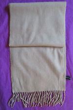 Superbe Echarpe JJB BENSON  100% CACHEMIRE TBEG  vintage scarf
