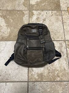 tumi backpack book bag travel bag authentic