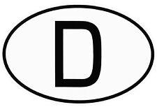 In Deutschland Kennzeichen Karosserie Aufkleber Embleme