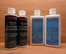 2 Firstfiller/2 Conditioner BlueMagic.Wasserbett.Desinfektion.Neubefüllung #