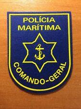 PATCH POLICE PORTUGAL MARITIME - COMANDO GERAL - ORIGINAL!