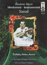 Sarod, Vol. 2 by Radhika Mohan Moitra  (Master Muscians of India) Music Audio CD