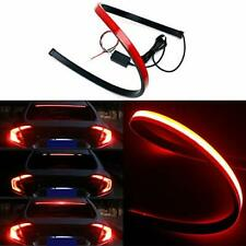 Universal Red LED Car High Mount Third Brake Stop Rear Tail Light Bar Strip UK