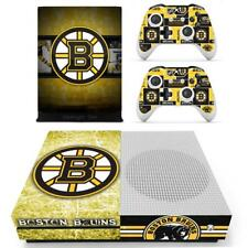 Xbox one S Slim Skin Boston Bruins NHL Vinyl Skin Stickers Decals for Console