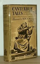 Chaucer - Canterbury Tales - De Luxe Edition - Illustrated by Rockwell Kent - NR