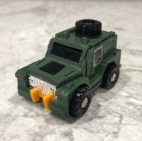 Takara 1985 Mini Transformers Jeep BRAWN Autobot G1 Robocar Action Figure -Japan
