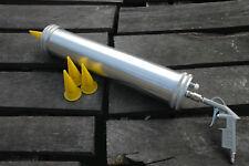 Boiliegun für 4kg Teig - Presse Airgun Boilies selber Rollen Roller + 3 Düsen
